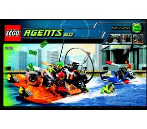 LEGO River Heist Set 8968 Instructions
