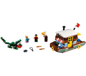 LEGO Riverside Houseboat Set 31093