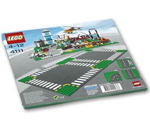 LEGO Road Plates, Cross Set 4111