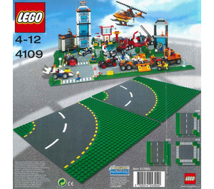 LEGO Road Plates, Curved Set 4109