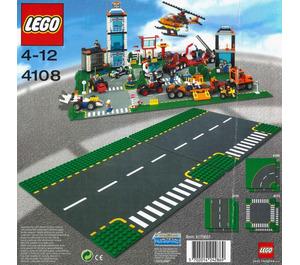 LEGO Road Plates, Junction Set 4108