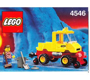 LEGO Road & Rail Maintenance Set 4546 Instructions