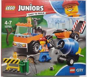 LEGO Road Repair Truck Set 10750 Packaging