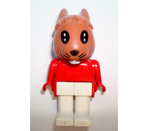 LEGO Robby Rabbit Fabuland Minifigure