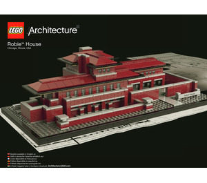 LEGO Robie House Set 21010 Instructions