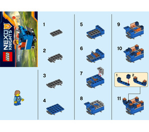 lego nexo knights fortrex instructions