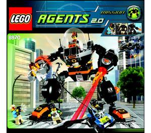 LEGO Robo Attack Set 8970 Instructions