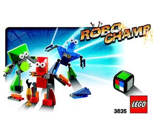 LEGO Robo Champ (3835) Instructions