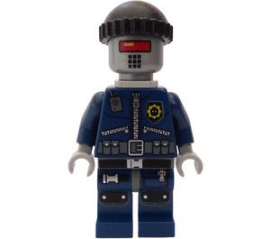 LEGO Robo SWAT with Cap and Neck Bracket Minifigure
