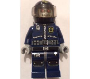 LEGO Robo SWAT with Helmet Minifigure