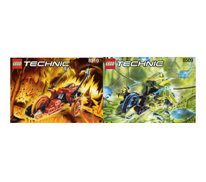 LEGO Roboriders Value Pack Set 880010