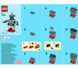 LEGO Robot Set 40128-1 Instructions