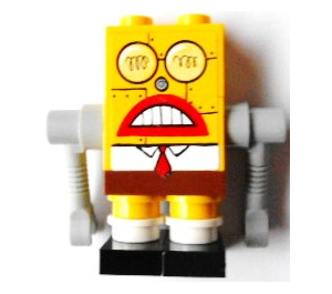 LEGO Robot SpongeBob SquarePants with Sticker Minifigure