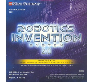 LEGO Robotics Invention System Upgrade Kit Set 3805