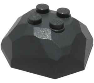 LEGO Rock 4 x 4 x 1.333 Top (30293 / 42284)