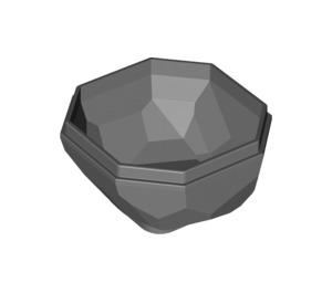 LEGO Rock 4 x 4 x 1.667 Bottom (28696 / 30294 / 42291)