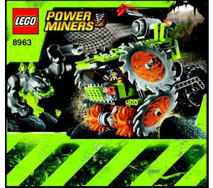 LEGO Rock Wrecker Set 8963 Instructions