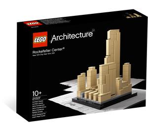 LEGO Rockefeller Center Set 21007 Packaging
