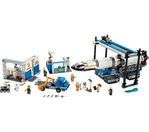 LEGO  Rocket Assembly &Transport Set 60229