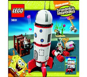 LEGO Rocket Ride Set 3831 Instructions