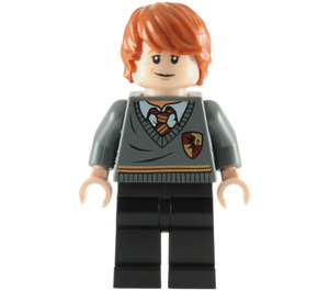 LEGO Ron Weasley with Gryffindor School Outfit Minifigure