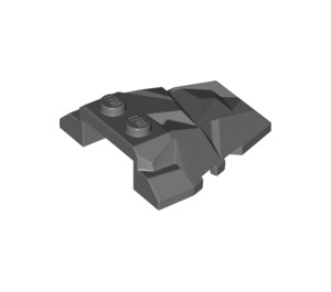 LEGO Roof Rock Tile 4 x 4 with Jagged Angles (28625 / 64867)