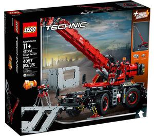 LEGO Rough Terrain Crane Set 42082 Packaging