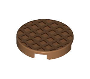 LEGO Round Tile 2 x 2 with Decoration with Bottom Stud Holder (20730)
