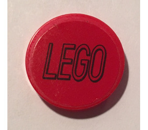 LEGO Round Tile 2 x 2 with 'Lego' Logo Sticker from set 76039 (14769)