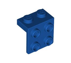 LEGO Royal Blue Bracket 1 x 2 - 2 x 2 (44728)