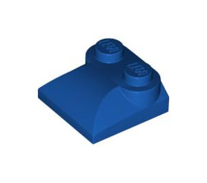 LEGO Royal Blue Slope 2 x 2 Curved with Curved End (47457)