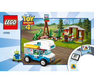 LEGO RV Vacation Set 10769 Instructions
