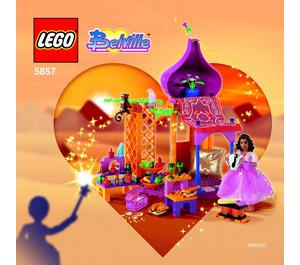 LEGO Safran's Amazing Bazaar Set 5857 Instructions