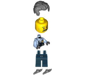 LEGO Sam Grizzled (Ice Skates) Minifigure