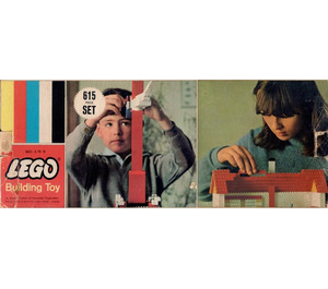 LEGO Samsonite Gift Set 615-1
