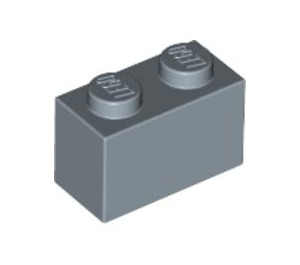 LEGO Sand Blue Brick 1 x 2 (3004)