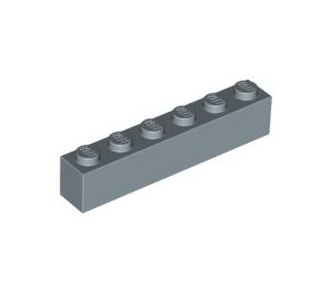 LEGO Sand Blue Brick 1 x 6 (3009)