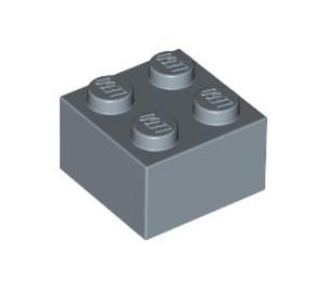 LEGO Sand Blue Brick 2 x 2 (3003)