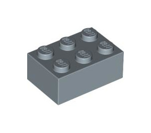 LEGO Sand Blue Brick 2 x 3 (3002)