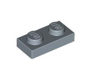 LEGO Sand Blue Plate 1 x 2 (3023)
