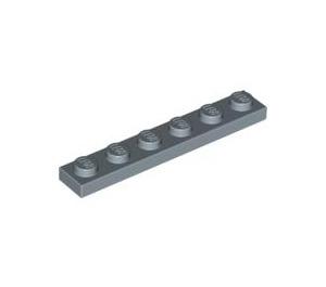 LEGO Sand Blue Plate 1 x 6 (3666)
