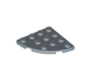 LEGO Bleu sable assiette 4 x 4 Rond Coin (30565)