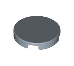 LEGO Sand Blue Round Tile 2 x 2 with Bottom Stud Holder (14769)