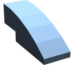 LEGO Sand Blue Slope 1 x 3 Curved (50950)