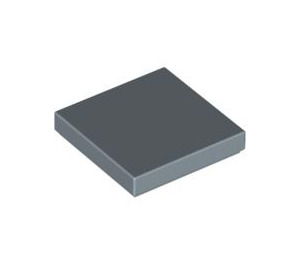 LEGO Sand Blue Tile 2 x 2 with Groove (3068)