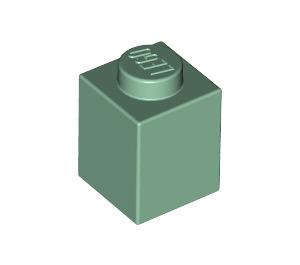 LEGO Sand Green Brick 1 x 1 (3005)