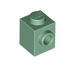 LEGO Vert Sable Brique 1 x 1 avec Stud sur Une Side (87087)