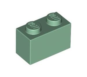 LEGO Sand Green Brick 1 x 2 (3004)
