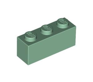 LEGO Sand Green Brick 1 x 3 (3622)