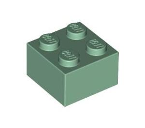 LEGO Sand Green Brick 2 x 2 (3003)